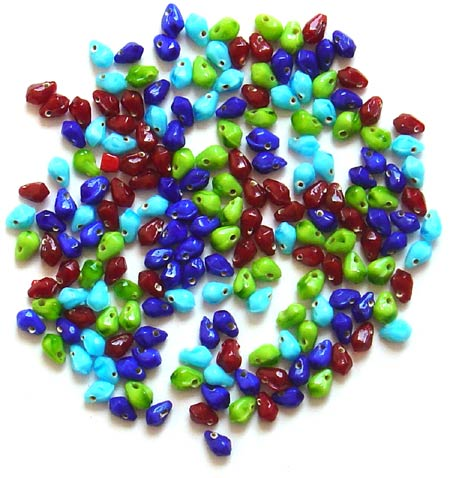 Tear Drop Mix Opaque<br>(6mm)